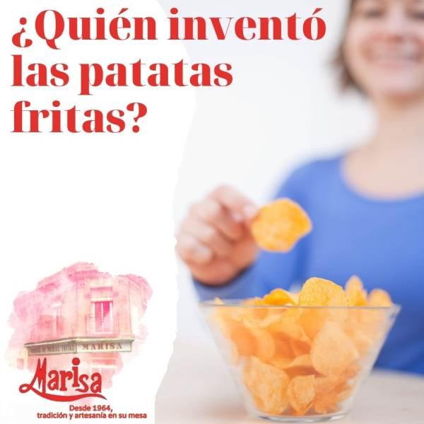 El origen de las patatas fritas